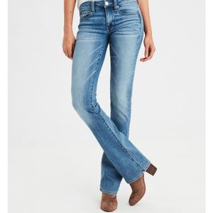 American Eagle Hipster Fit Bootcut Jeans Size 8!